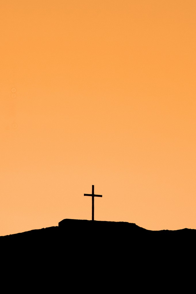 Cross on a Hillside